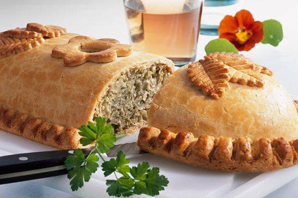 Russian pie kulebyaka