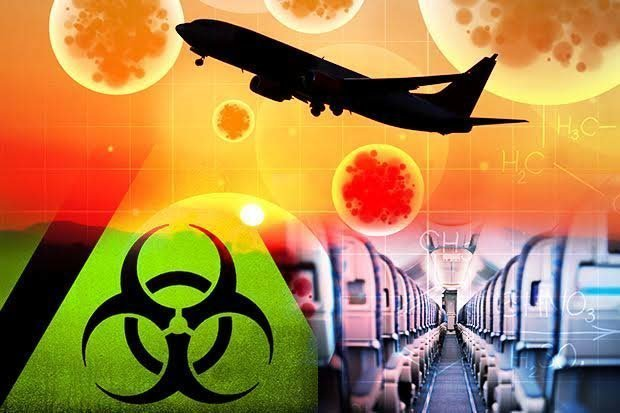 Ebola could be spread on plane