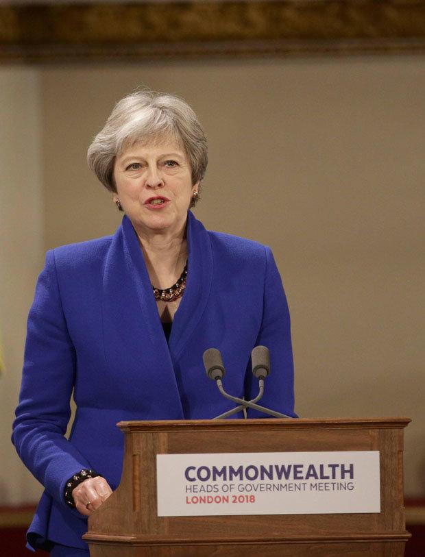 Image of Theresa May