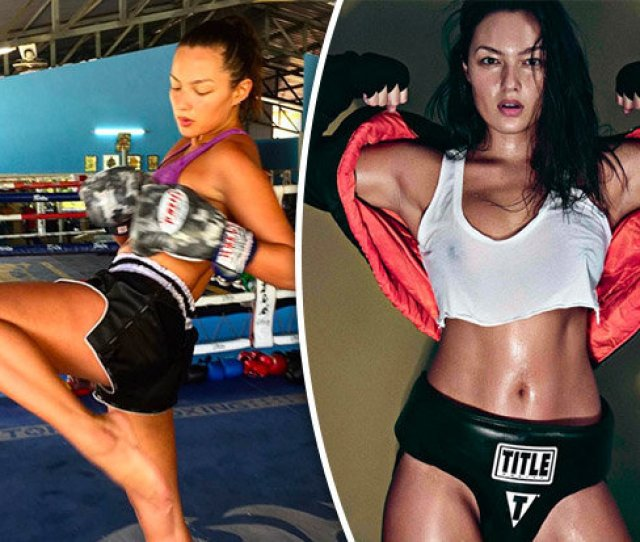 Muay Thai Fighter Babe Shows Off Mma Skills In Video