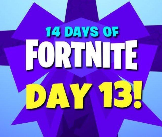 14 Days Of Fortnite Day 13 New Rewards Challenges Ltm Leaks