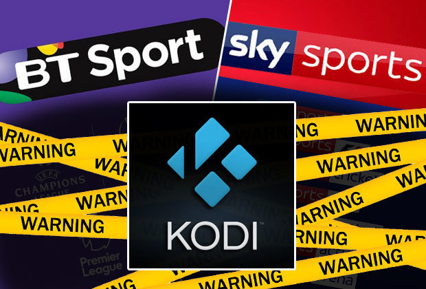 Kodi WARNING - Illegal streaming jail sentences in HUGE Sky Sports and BT Sport CRACKDOWN