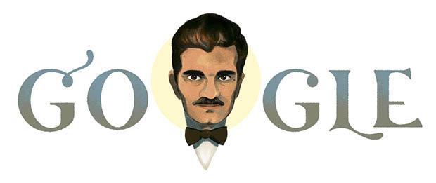 Omar Sharif Google Doodle