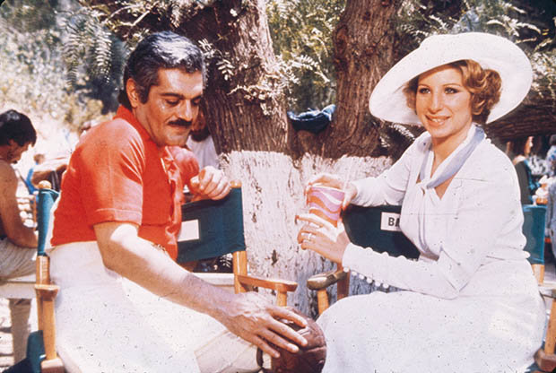 Omar Sharif and Barbra Streisand