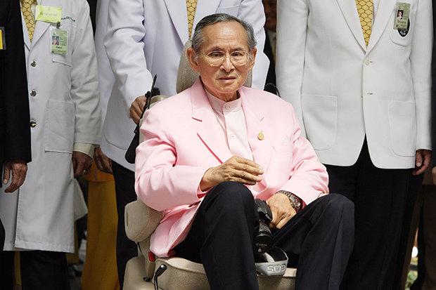 king Bhumibol Adulyadej's