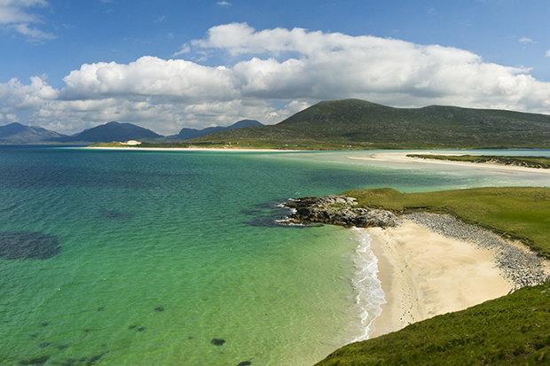 Paradise Beach in Scotland