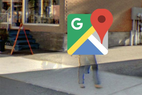 Google Maps  Street View shows up  ghost couple  in bizarre pictures     A ghostly couple on Google Street View