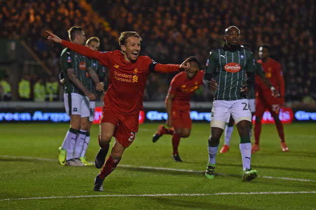 Image result for lucas leiva vs plymouth