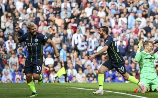 Burnley 0-1 Man City: Sergio Aguero's strike hands Pep ...