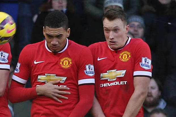 Image result for Chris Smalling, Phil Jones