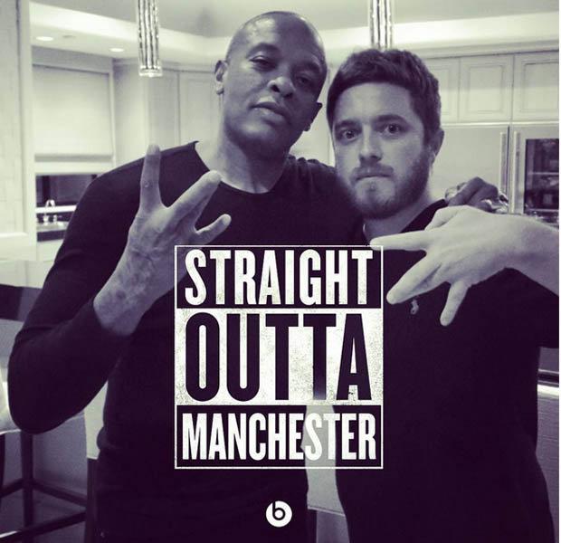 Charlie Parish and Dr Dre