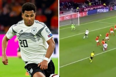 Arsenal fans RINSED as ex-star Serge Gnabry scored wonder goal for Germany
