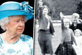 Truth about picture of Queen's 'Nazi salute'