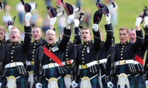 MoD backs down over Scots regiment names | UK | News | Express.co.uk