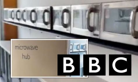 BBC waste exposed as room 'devoted to microwaves' found - and staff don't know where it is