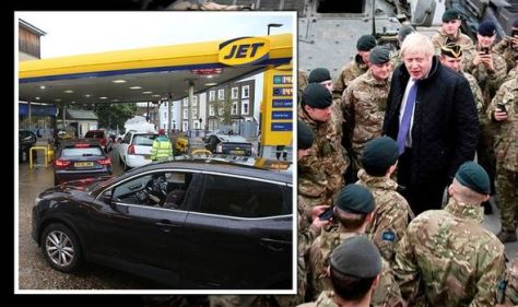 Petrol shortages LIVE: Drivers panicking as South East 'critical' - military arrive TODAY
