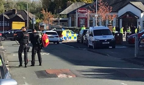 Manchester crash: 'Major police incident' causes traffic chaos as officers close road