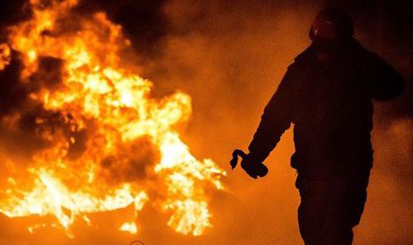 Polish migrant fire stunt, polish man firebomb, polish firebomb backfires, migrant firebombs town hall, jailed for firebomb, Polish migrant jailed, Polish migrant firebomb jailed