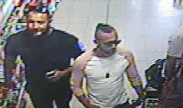L'attaque à l'acide soupçonne Worcester Home Bargains