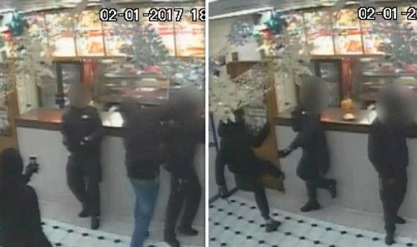 Attack at Dallas Chicken takeaway, Brixton Road