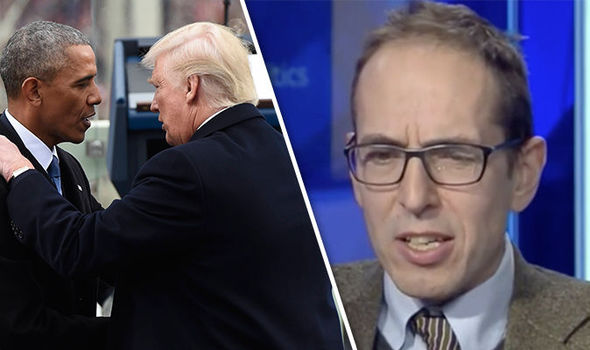 Donald Trump and James Delingpole