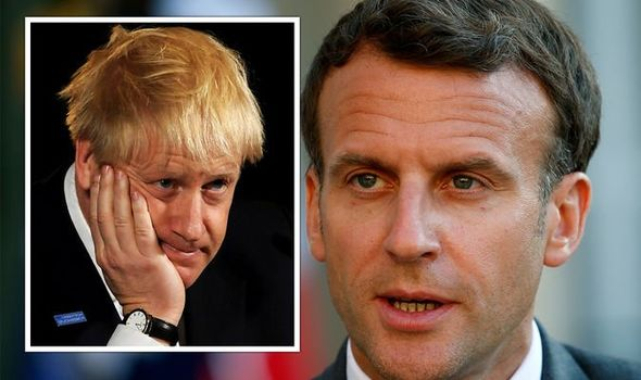 Emmanuel Macron attempted to upstage Boris Johnson
