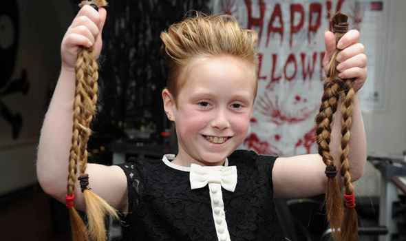 Brave Cancer Fighter Eve Lily Brown Has Cut Her Hair Off