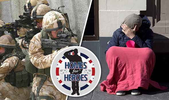 Homes for Heroes British veterans