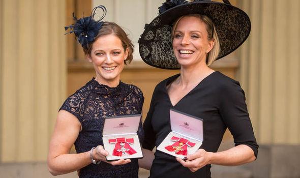 Kate and Helen Richardson Walsh