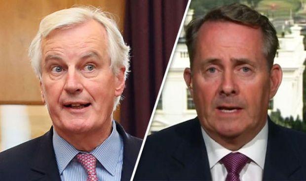 Michel Barnier_Liam Fox
