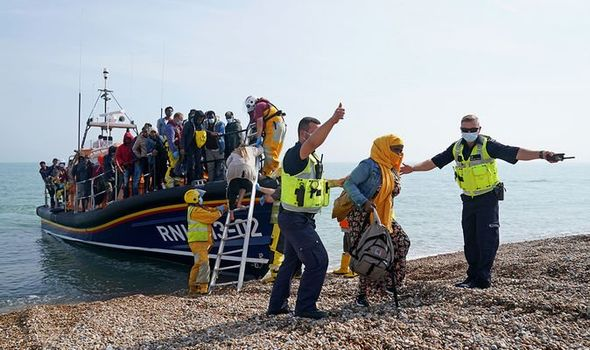 Migrant crossings reach record number