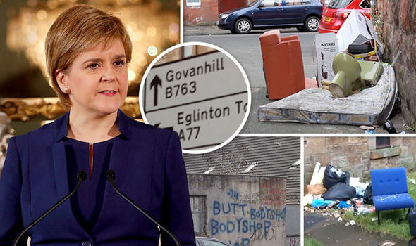 Govanhill residents have torn into Sturgeon over the squalid conditions