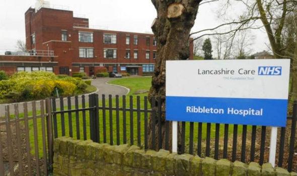 Outside Ribbleton Hospital