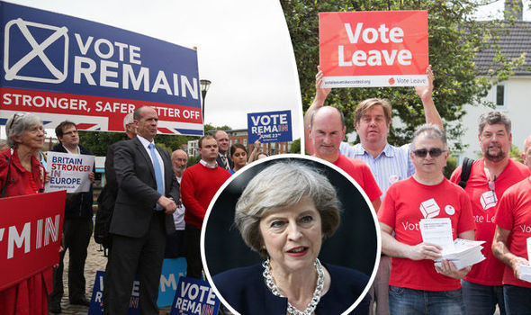 Theresa May's Brexit plan has been well received by both sides of the EU referendum debate