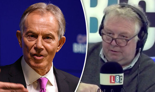 Tony Blair and Nick Ferrari