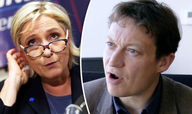 Marine Le Pen and Gabriel Gatehouse