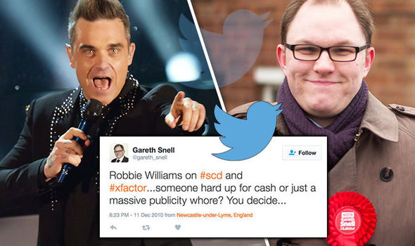 Gareth Snell has been caught out in more vulgar rants