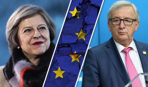 brexit theresa may treaty of rome