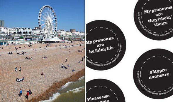 Brighton and Hove City Council's badges