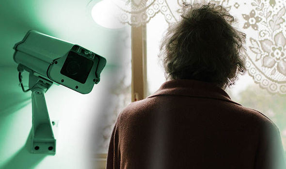 Elderly abuse cctv campaign