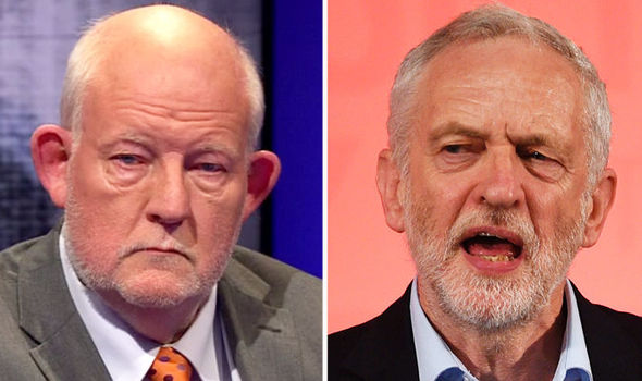 Charle Clarke and Jeremy Corbyn