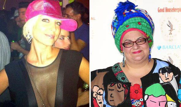 Maria Nieto and Camila Batmanghelidjh