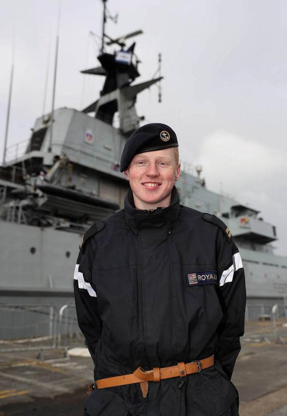 Able Seaman Bradley Alderton