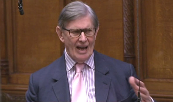 Bill Cash parliament vote EU Brexit