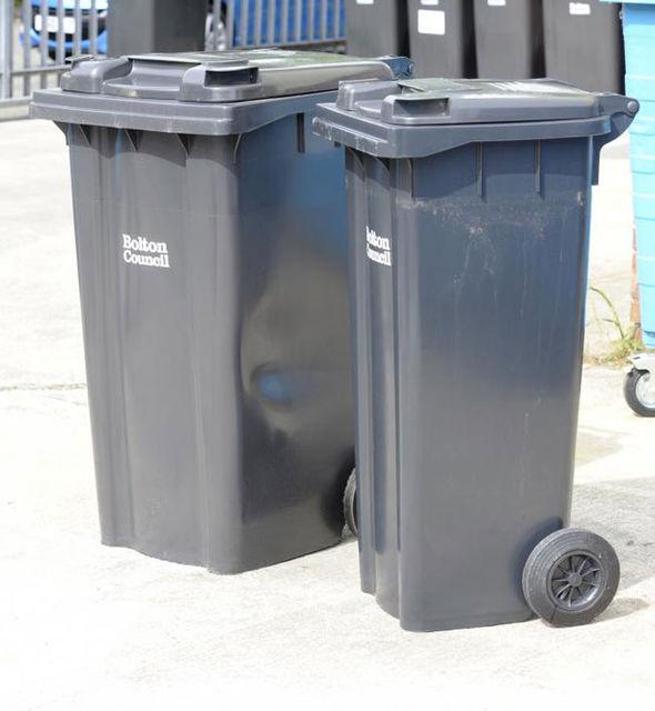 Slim bins