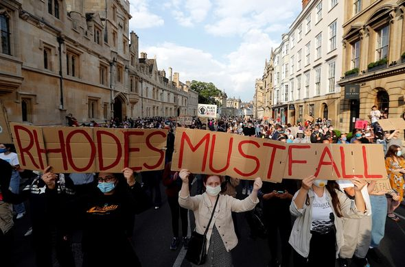 Black Lives Matter protested in Oxford last year