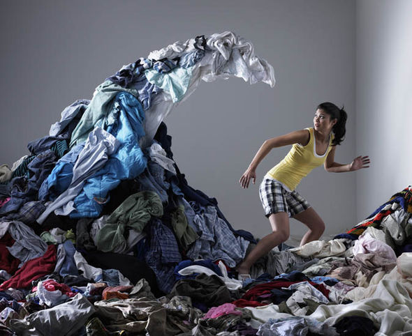 A wave of clothes