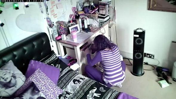 Cleaner Maria Preston CCTV