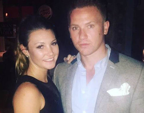 Corrie McKeague with his girlfriend