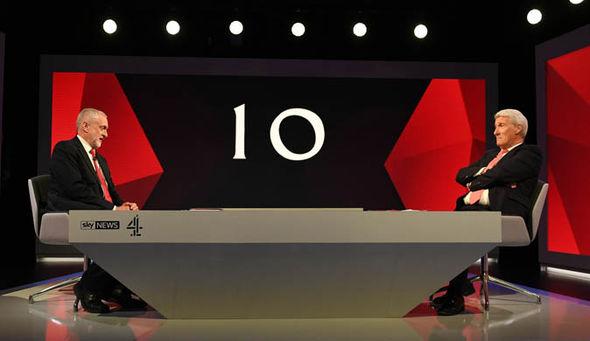 Election debate 2017 Theresa May Jeremy Corbyn Paxman